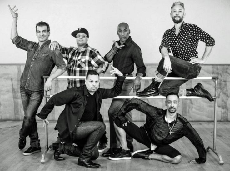 PR photo for the documentary STRIKE A POSE which follows the dancers of the Blond Ambition Tour for the past 25 years since the groundbreaking even…