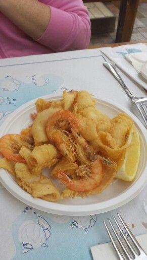 Quando il pesce è fresco... il fritto parla da solo...