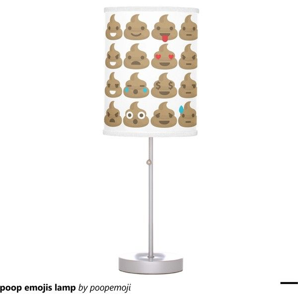 Poop Emojis Lamp ($53) Liked On Polyvore Featuring Home