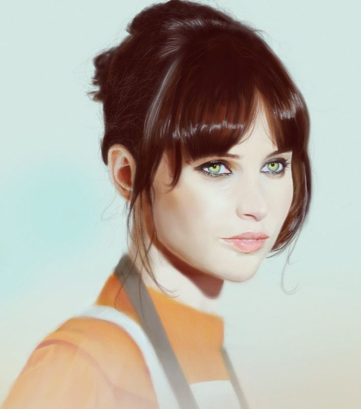 Felicity Jones, Marcel Gieseler on ArtStation at https://www.artstation.com/artwork/felicity-jones