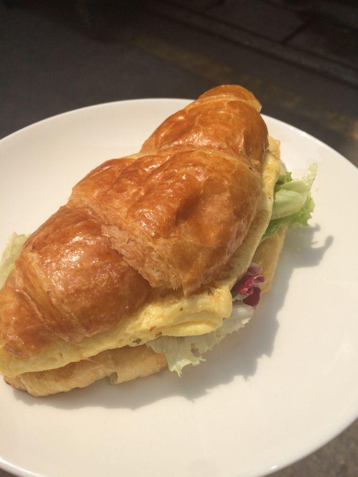 Egg Mayo (omelette) Breakfast Croissant