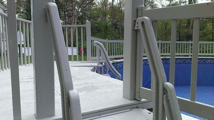 84 best images about our above ground pool pictures on for Above ground pool decks attached to house