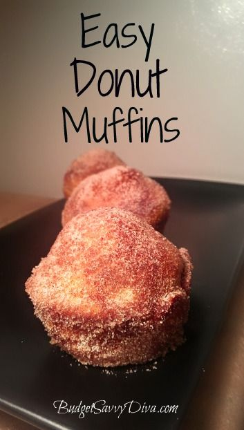 Easy Donut Muffins Recipe