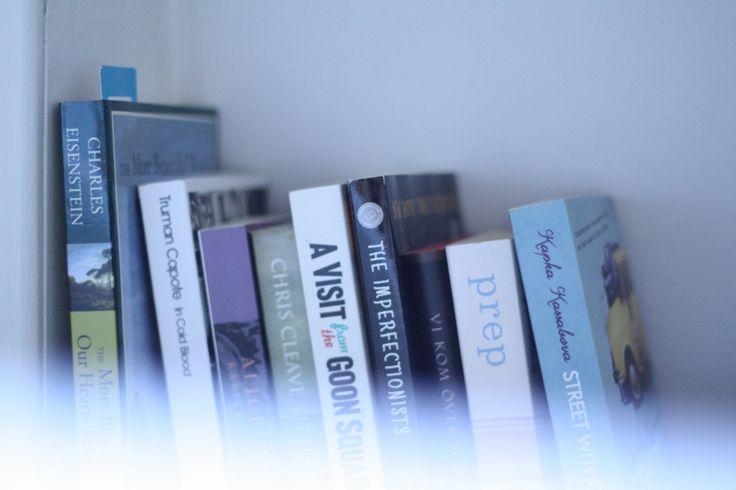 books in my bookshelf
