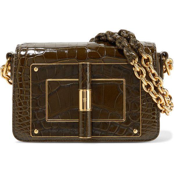 a2569d1d88ea TOM FORD Natalia alligator shoulder bag (46