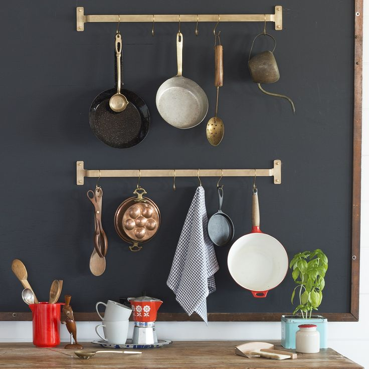Save Space And Put Pots And Pans On Display With This