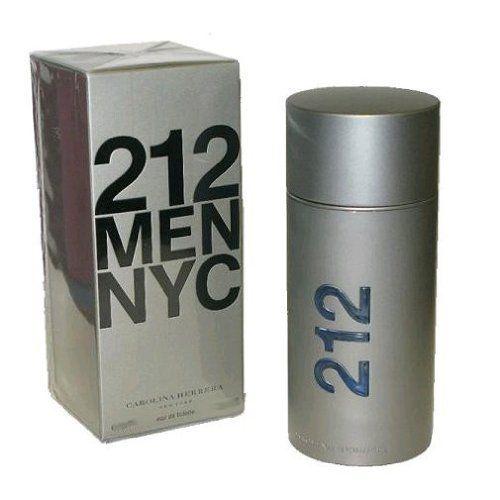 Carolina Herrera 212 NYC Eau de Toilette Spray for Men, 6.75 Ounce  http://www.themenperfume.com/carolina-herrera-212-nyc-eau-de-toilette-spray-for-men-6-75-ounce/