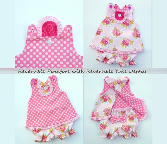 JuneBerry Top and Bloomer  - PDF Top Pattern  Girl's Sewing Pattern. Girl's Top Pattern. Toddler Top Pattern sizes 3m - 5