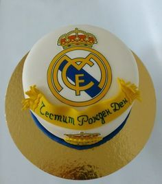 real madrid cake - Google Search                                                                                                                                                     Más