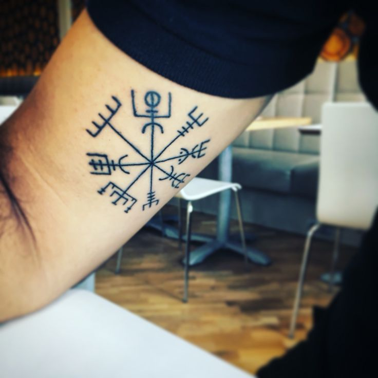 Vegsigir tattoo iceland