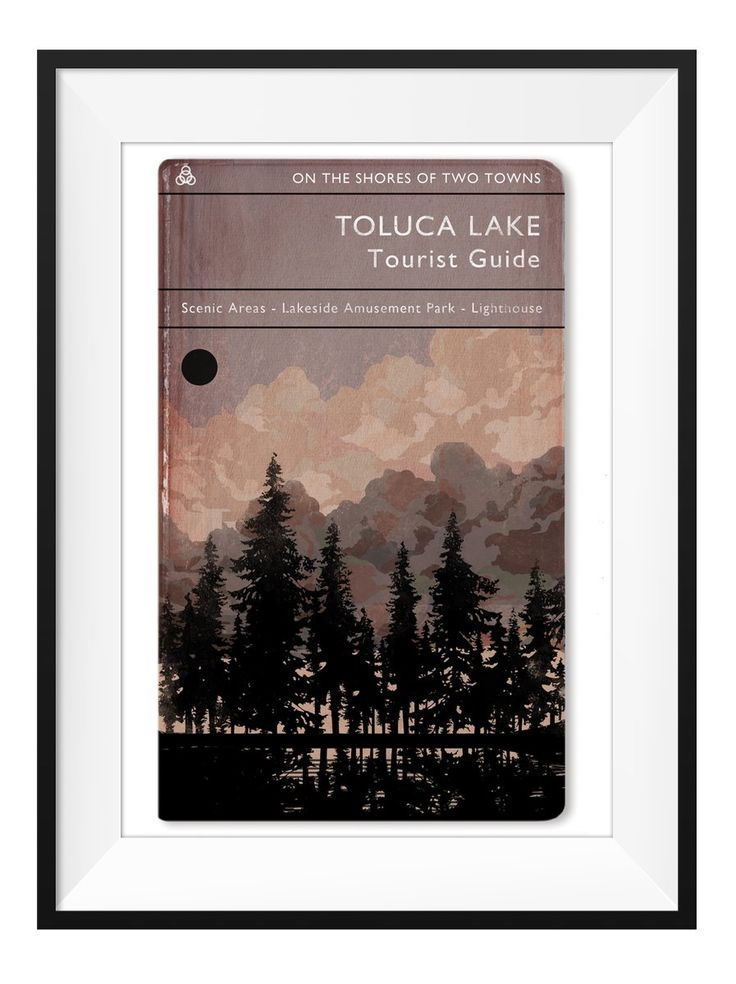 Giclee art print of Toluca Lake We believe videogames are an art form, and this series of prints was created to spread that principle. Globally...
