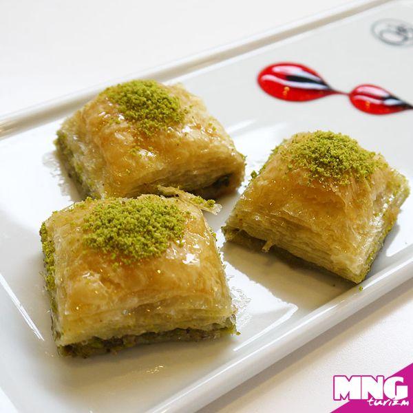 Ve Türkiye'nin vazgeçilmez bayram tatlısı; baklava