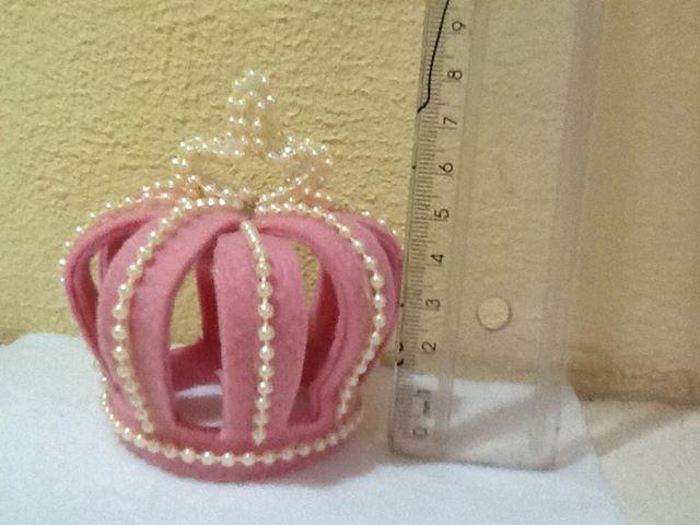 Coroa real feltro
