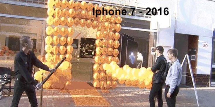 denmark iphone 7 launch lol