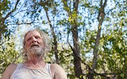 His Name Was Gary Poulter. Meet the homeless man who became a movie star: Gary Poulter in David Gordon Green's Joe