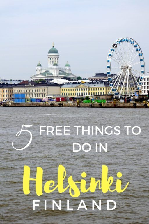 5 Free Things to do in Helsinki, Finland with Kids