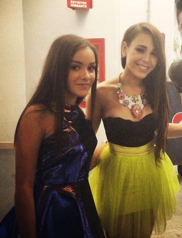 Angie Vazquez y Danna Paola, ahora las mejores amigas