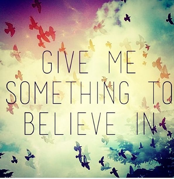 Something To Believe In - Parachute