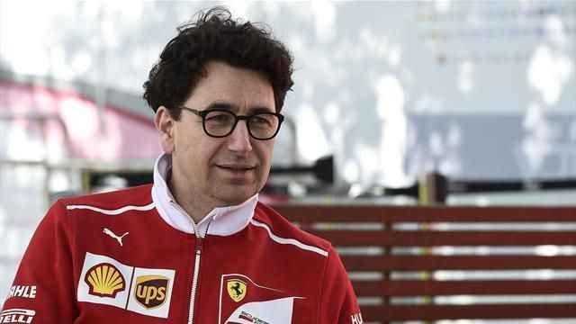 Mattia Binotto crede al rinnovo di Vettel: e perché mai dovrebbe andarsene? Mattia Binotto, direttore tecnico della Ferrari, ha dichiarato che Seb dovrebbe restare in Rosso ora che a Maranello si è consapevoli dei propri mezzi. Mattia Binotto, nel corso delle premiazioni de #f1 #ferrari #vettel #contratto #rinnovo