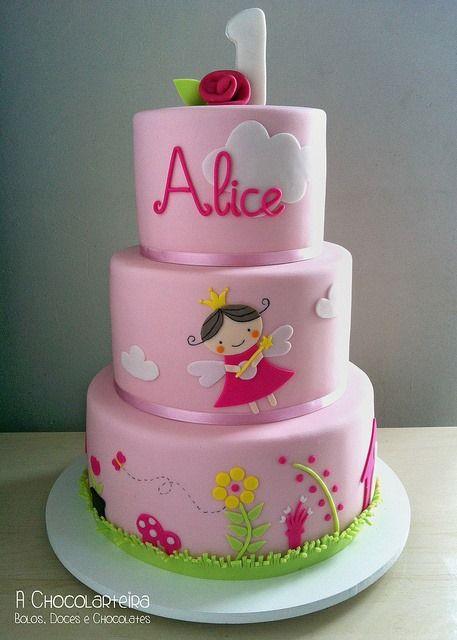 Fairy Princess Cake by A Chocolarteira