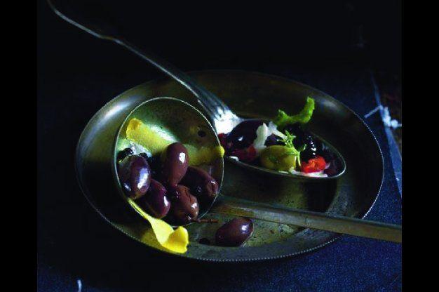 Marinované olivy s vodkou   Apetitonline.cz