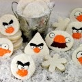 Angry Bird Snowball Fight