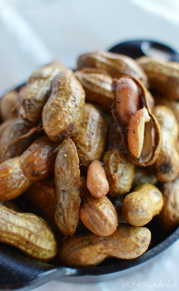 Spicy Cajun Boiled Peanuts Recipe - Southern Food - For those of you that have never tried boiled peanuts......YOU ARE MISSING OUT!!