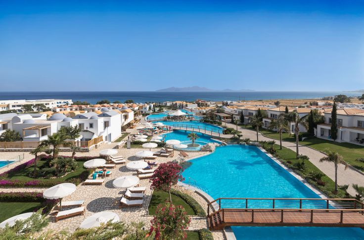 Mitsis Blue Domes Exklusive Resort & Spa 5 Sterne Hotel auf Insel Kos, Griechenland Doppelzimmer Meerblick inkl. Flug & Transfer All Inclusive 13.10.2017 -18.10.2017 683 EUR p.P.