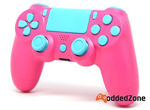 Pink/Light Blue Ps4 Rapid Fire Custom Modded Controller 35 Mods COD BO3, BO2, Advanced Warfare, Destiny, Ghosts Quick Scope Auto Run Sniper Breath and More  http://www.cheapgamesshop.com/pinklight-blue-ps4-rapid-fire-custom-modded-controller-35-mods-cod-bo3-bo2-advanced-warfare-destiny-ghosts-quick-scope-auto-run-sniper-breath-and-more/