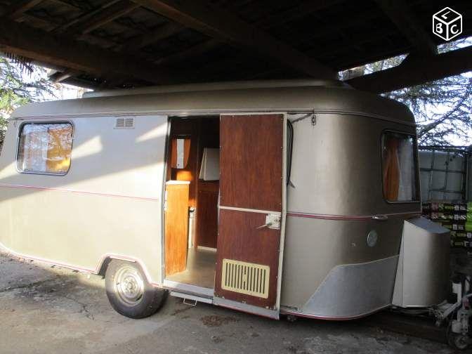 Caravane eriba troll vintage
