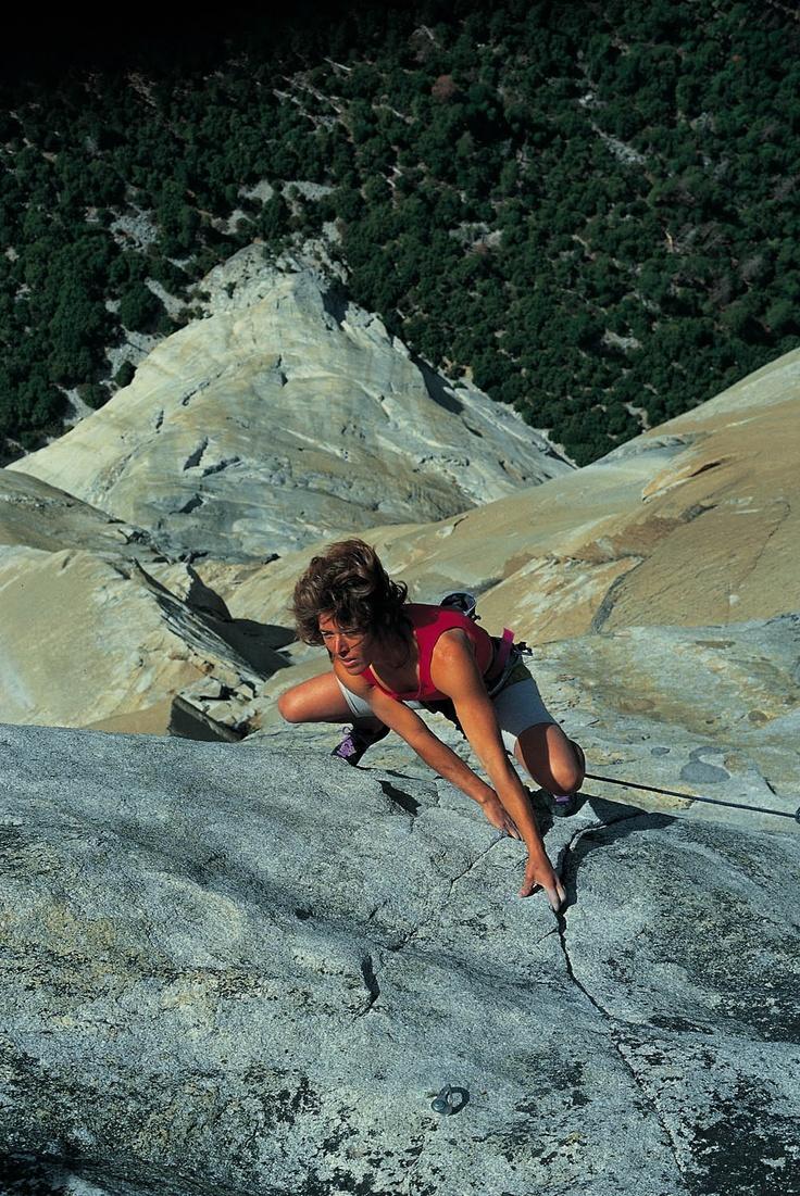 Climbing El Capitain, Yosemite