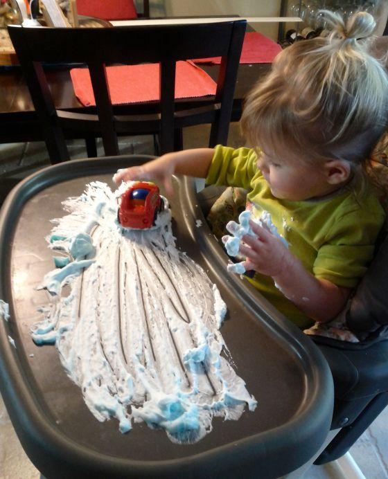 Fun indoor activities for little ones: Idea, Kids, Fun, Toddlers, Boy, Kiddo, Indoor Toddler Activities, Shaving Cream