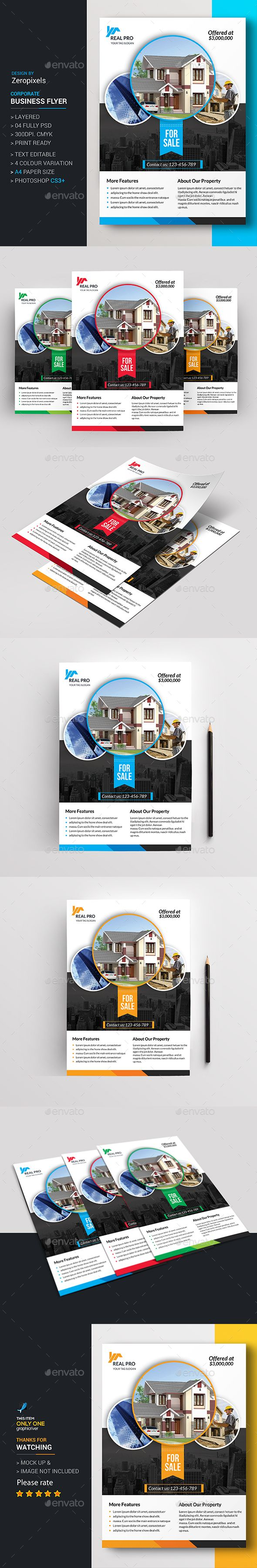 Real Estate Flyer Template PSD. Download here: http://graphicriver.net/item/real-estate-flyer/15996966?ref=ksioks