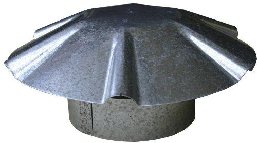 Speedi-Products EX-RCGU 03 3-Inch Diameter Galvanized Umbrella Roof Vent Cap * You can find more details by visiting the image link.