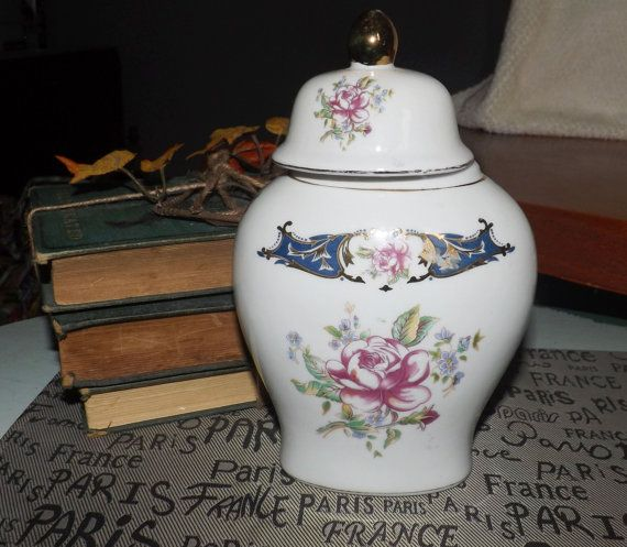 Mid-century c.1950s Limoges Porcelana Fina lidded by BuyfromGroovy