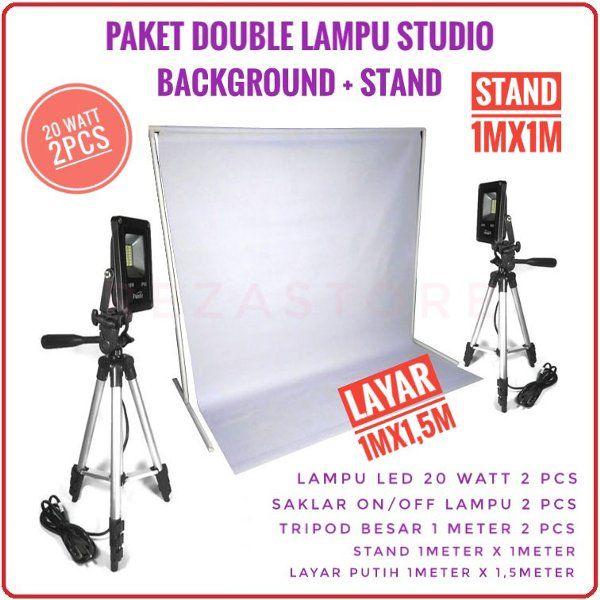 Pin Di Lampu Mini Studio Foto