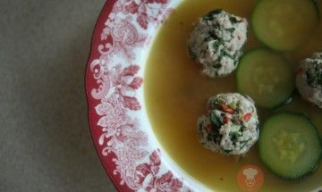FotoRecept | Mäsové guľky do zeleninového vývaru