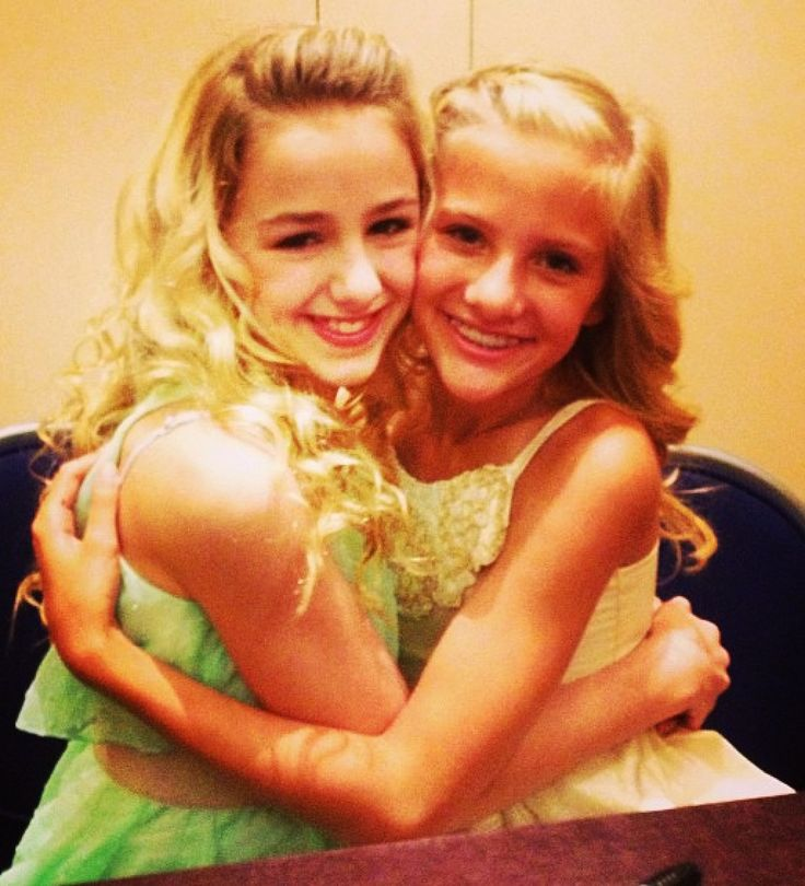 Chloe and Paige #DanceMoms