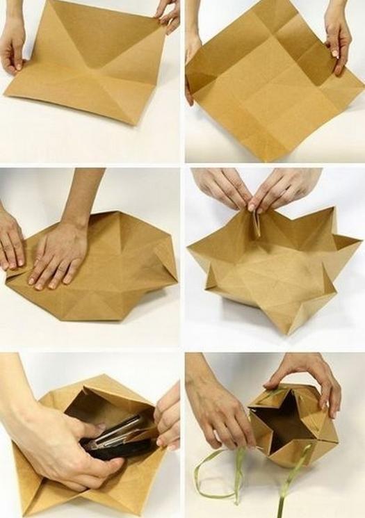 Оригинальная коробка для упаковки подарка своими руками.