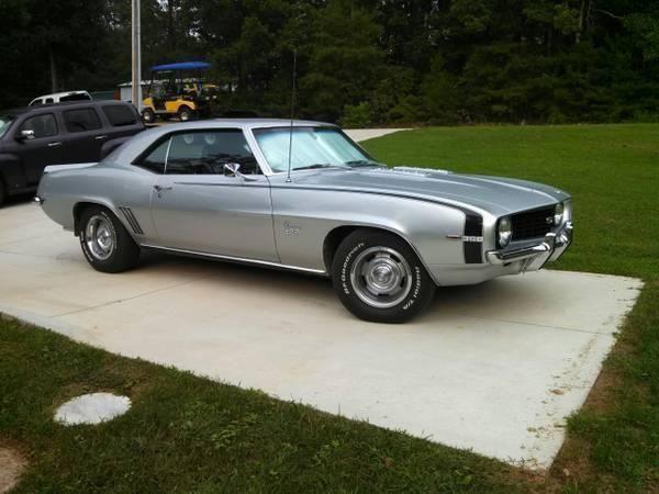 1969 Chevy Camaro SS Price - $42,000 Location - , Virginia