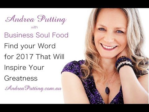 Finding an Inspirational Word for 2017