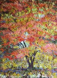 Paisaje Bordado - Fiona Robertson - Textiles artista