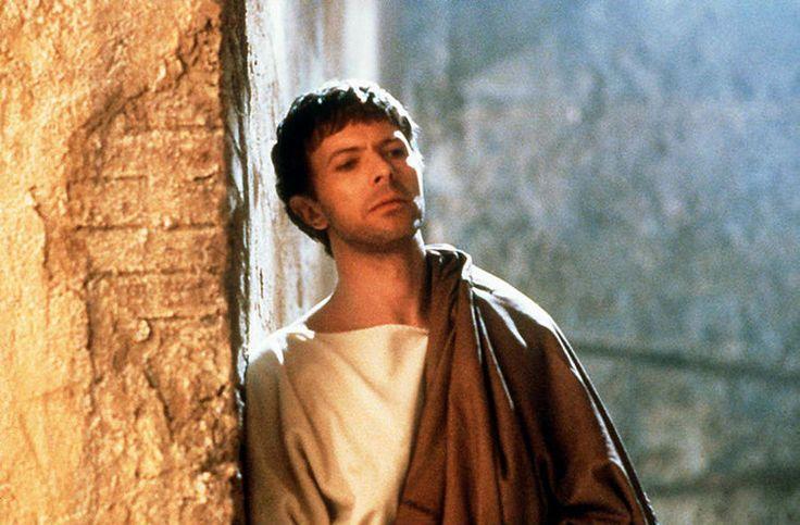 """David Bowie as Ponce Pilate in """"La Dernière Tentation du Christ"""" Martin Scorsese"""