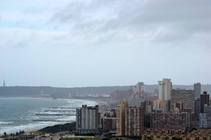 View from Moses Mabhida Stadium Durban