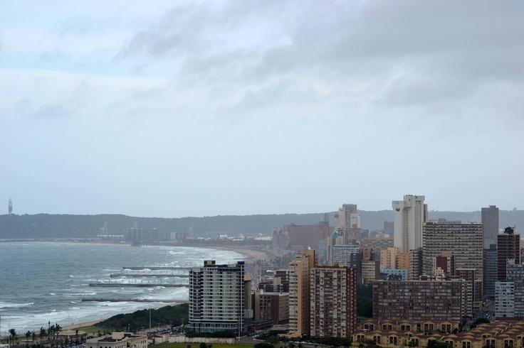 View from Moses Mabhida Stadium Durban