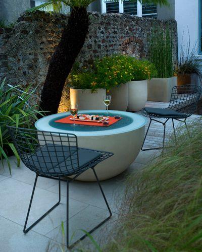 small garden design portfolio hove andy sturgeon - Garden Furniture For Small Gardens