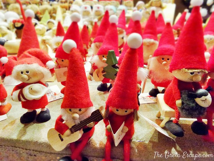 Santas in Tallinn, Estonia