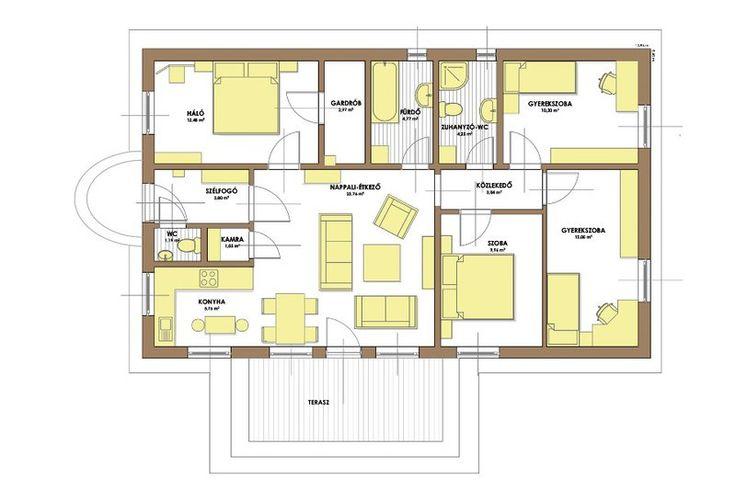 Alaprajz - CSOK 95 - készház, készházak, kész ház, készház szerkezet, előregyártott készház, makész, passzívház, passzívházak, készházas, gyorsház, könnyűszerkezetes ház, készházas, ház, házak, építés, készház építés, házépítés, tervezés, új lakások építése, kiemelkedő hőszigetelés, takarékos minőségi készházak, könnyűszerkezetes házak tervezése és kivitelezése, kész, könnyűszerkezetes, könnyűszerkezetes ház, könnyűszerkezet, gyorsház, faház, családi ház, családiház, alaprajz, alaprajzok…