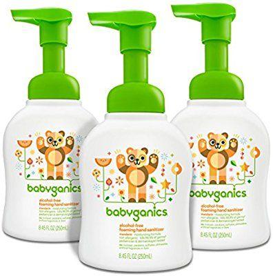 Amazon Com Babyganics Alcohol Free Foaming Hand Sanitizer