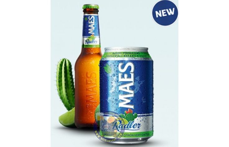 Buy Online Pack Maes Lime-Cactus 6 X 33cl CAN - Belgian Shop online...